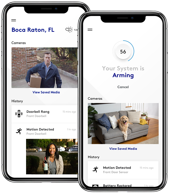 LifeShield home security mobile app