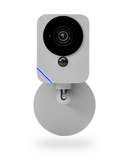 Blue Wireless Outdoor Camera