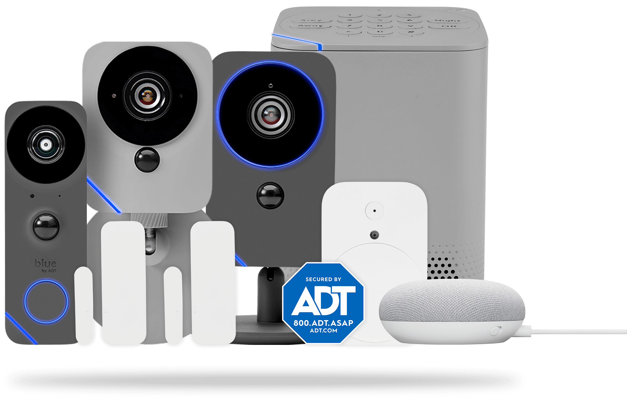 Blue by ADT home security systems