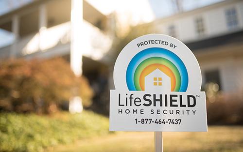 LifeShield Yard Sign
