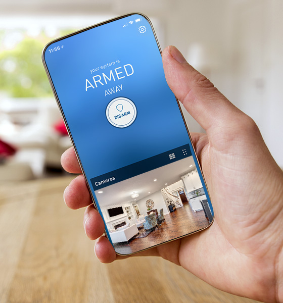 ADT home security mobile app notifications