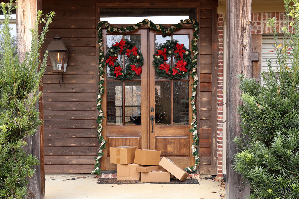 Beware of Packages Being Stolen From Your Porch